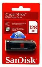 SanDisk 128G Cruzer Glide 128GB USB 2.0 Flash Thumb Pen Drive CZ60 Retail Pack