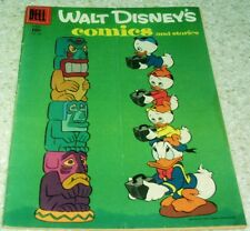 Walt Disney's Comics and Stories 186, FN- (5.5) Ice Taxis!  50% off Guide!