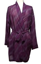 VICTORIA'S SECRET Purple Sheer Kimono Robe Womens One Size Fits All