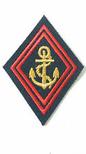 Losange / écusson pour Ténue & Uniforme de SOUS-OFFICIER TDM Troupes de Marine