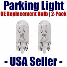 Parking Light Bulb 2-pack OE Replacement Fits Listed Lamborghini Vehicles - 2821
