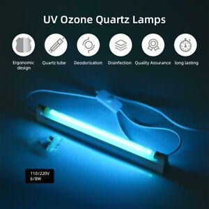 110V 220V Ultraviolet T5 Tube 6W 8W Light Ozone Lamp Work Quartz Lamp