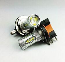 H15 PGJ23T1 80W CREE HIGH POWER LED FRONT FOG HIGH BEAM CAR XENON WHITE BULBS A