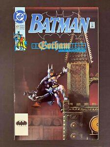 BATMAN #477  DC COMICS 1992 VF+