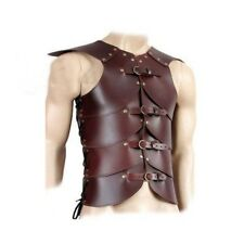 Leather Vest ARMOR 4mm Leather Armor LARP Armor MEDIEVAL costume original