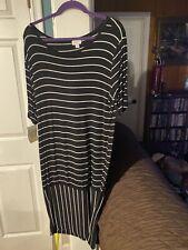 Lularoe Julia Dress Size 3xl Black And White