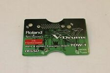 Roland TDW-1 Expansion Card TDW1 TD-10 V-Cymbal Expanded Drum Module Brain Drum