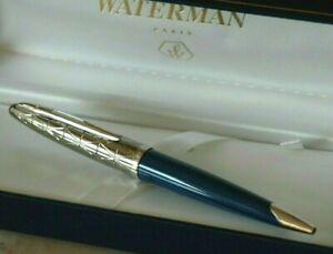 Ballpoint Pen Waterman Carene Contemporary Gun Metal IN Box New Of Stock T33