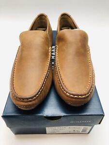 Cole Haan Men's Somerset Venetian II Loafer Dark Camel Size 9M