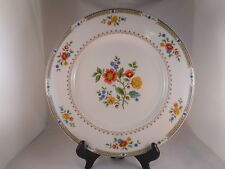 Dinner Plate Royal Doulton China, Kingswood Pattern (TC1115), Red Blue Flowers
