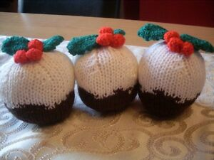 christmas pudding knitting patteren