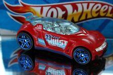 2014 Hot Wheels Track Builder Exclusive High Voltage blue wheels