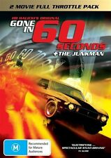 Gone In 60 Seconds / The Junkman (DVD, 2009, 2-Disc Set)-REGION 4-Free postage