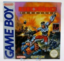 Bionic Commando - Nintendo GameBoy UKV import FRANCE complete MINT RARE !!! +