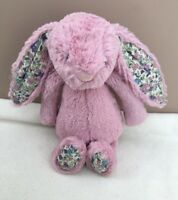 Jellycat Small Bashful Blossom Tulip Pink Bunny Rabbit Soft Toy Comforter Baby
