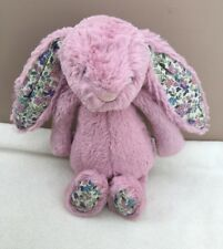 JellyCat piccola TIMIDA Blossom Tulipano Rosa Coniglietto giocattolo morbido Piumone Baby