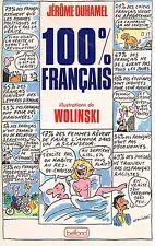 DUHAMEL WOLINSKI 100% francais CHARLIE HEBDO + JE SUIS CHARLIE + POSTER GUIDE
