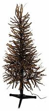 Pre-Lit 4 ft German Twig Pine Tree Christmas Country Metal Base NEW XT7F0002