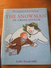 Cross Stitch Book patterns the snowman snowmen Christmas