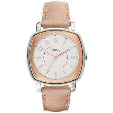 Fossil Damenuhr Armbanduhr ES4196 Leder Armband Neu