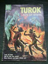 Dell Turok Son Of Stone #20 Dinosaur Cover VG 10c Silver Age Comic 1960