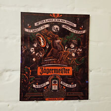 Jagermeister METAL SIGN, 2 Sizes Available ideal for pub bar Man Cave