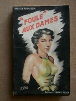 Rare SPECIAL POLICE 22 Maurice Ghnassia Foule aux Dames / Cover Michel Gourdon