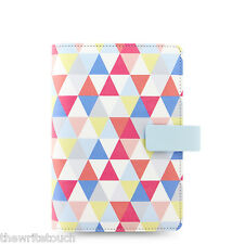 Filofax Personal Size Geometric Organiser Planner - 2018 Diary  - 027039