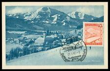 AUSTRIA MK 1948 MARIAZELL MAXIMUMKARTE CARTE MAXIMUM CARD MC CM h0726