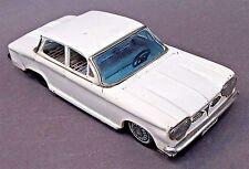 "Bandai 1962 CORVAIR HARDTOP 8.25"" Japanese WHITE tin litho friction car"