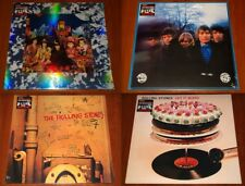 THE ROLLING STONES 4x LP VINYL Lot THEIR SATANIC / BUTTONS / BEGGARS / BLEED New
