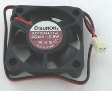 Sunon KD1204PFS3 40x40x10mm Sleeve Bearing 12V fan, 2wire, 2Pin