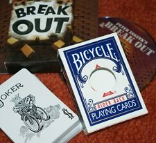 Break Out --Peter Eggink --Blue Bicycle -- visual ambitious card climax     TMGS