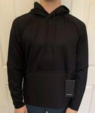 Lululemon Men's Size XXL Fundamental Fuel Pullover Black BLK Hoodie Yoga Run
