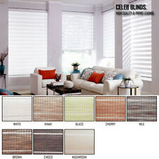 Window Blinds Light Filtering Zebra Shade PRETTY Fabrics Anti Uv Custom Made