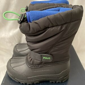 Polo Ralph Lauren Whistler Winter Boots Size Uk 11.5 BNIB