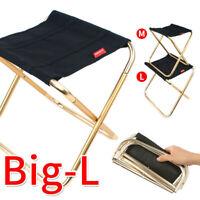 Portable Folding Chair Outdoor Mini Seat Camping Fishing Picnic Beach BBQ Stools