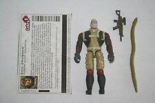GI Joe 2004 Valor Vs Venom Cobra Coil Crusher V1 Complete With File Card