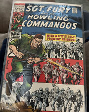 SGT.FURY and his HOWLING COMMANDOS 12 CENT COMIC,#67 JUNE, 1969