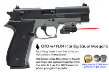 ArmaLaser GTO for SIG Sauer Mosquito RED Laser Sight w/FLX41 Grip Touch