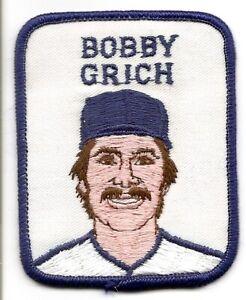 BOBBY GRICH 1979 Vintage Penn Emblem Baseball Patch-California Angels-Orioles