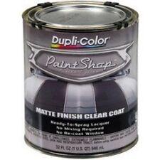 Duplicolor Bsp307 Paint Shop Matte Finish Clear