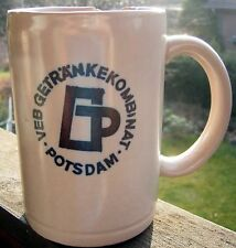 Alter Bierkrug Maßkrug 0,5 L VEB Getränkekombinat Potsdam