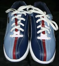 Dexter Slide Rite Bowling Shoes Red White Blue Non-Marking Soles Size 7 Retro