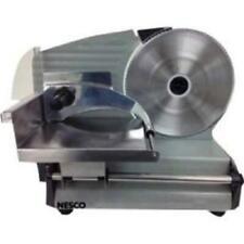 Nesco FS-250 Food Slicer 180watt 8.7in Bladeperp Side Built In Thickness Control