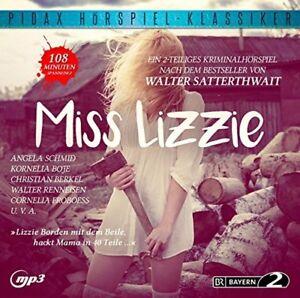 Miss Lizzie - Kriminalhörspiell (Pidax Klassiker)  mp3-CD/NEU/OVP