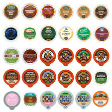 96 K Cups - Decaf Variety Pack - 14 Different Flavors - Loose K Cups
