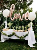 "40"" Rose Gold Love Foil Balloon Wedding Party Engagement Letters Bridal Shower"