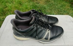 Adidas Adipower Boost Men's Black/Grey Golf Shoes Size 11.5