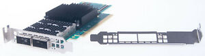 Mellanox MCX653106A-ECAT CX653106A ConnectX-6 EDR/HDR100/100GbE NIC Both Bracket